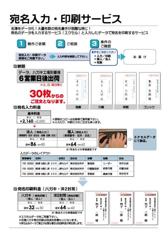 宛名書き② はんこ屋さん21鹿児島平之町店