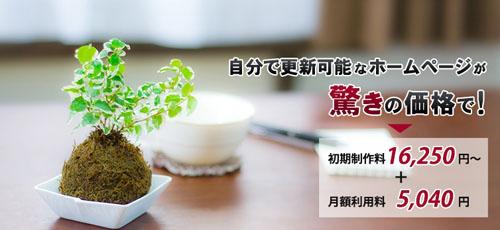 はんこ屋さん21鹿児島平之町店ではホームページ作成します